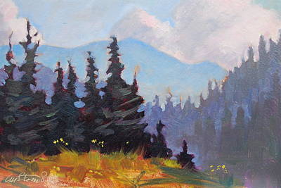 Painting - The Great Smokey Mountains by Len Stomski