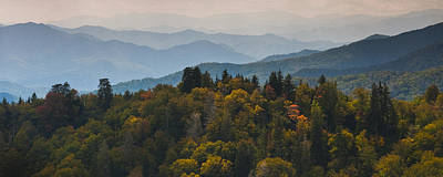 The Great Smokey Mountains Art Print