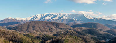 The Great Smoky Mountains II Art Print