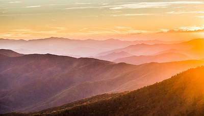 Photograph - The Great Smoky Mountains by Shelby Young