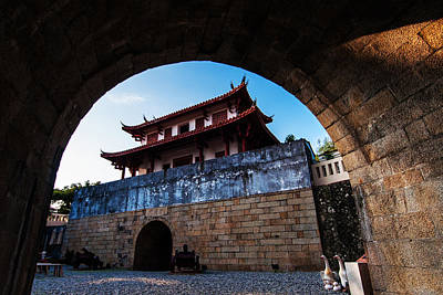 Photograph - The Great South Gate Tainan by Tess1223