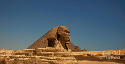The Great Sphinx Of Giza 2 Art Print by Joe  Ng