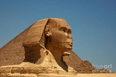 The Great Sphinx Of Giza Art Print by Joe  Ng