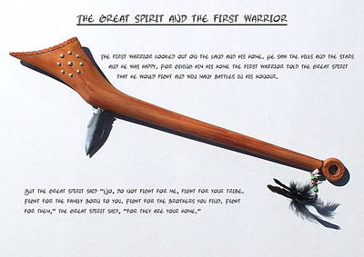 Photograph - The Great Spirit And The First Warrior by Guy Pettingell