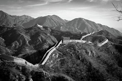 Photograph - The Great Wall by Erika Gentry