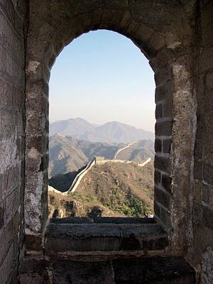 Photograph - The Great Wall by Leslie Brashear