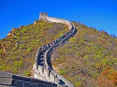 The Great Wall Of China. Original by Andy Za