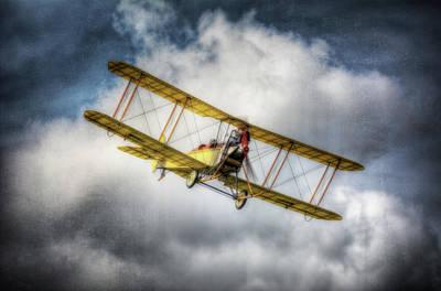 Bi Plane Digital Art - The Great War Display Team Flypast by Nigel Bangert