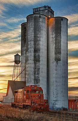 The Great Western Sugar Mill Longmont Colorado Art Print