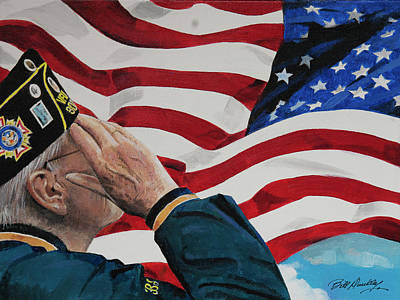 The Greatest Generation Print by Bill Dunkley