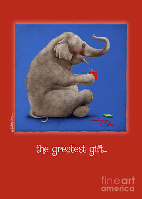 Painting - The Greatest Gift... by Will Bullas