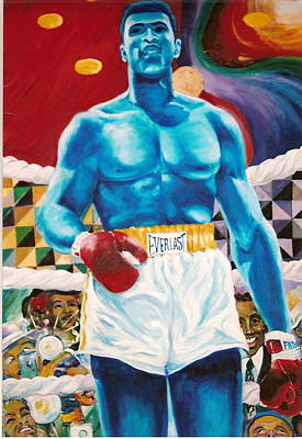 Painting - The Greatest by Lee Ransaw