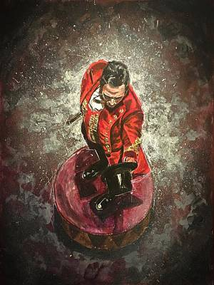 Painting - The Greatest Showman by Joel Tesch
