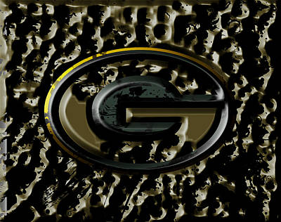 Patriot Mixed Media - The Green Bay Packers 2a by Brian Reaves