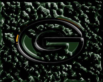 The Green Bay Packers 2b Art Print