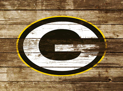 The Green Bay Packers 3a    Art Print