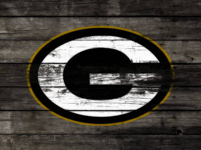 The Green Bay Packers 3b    Art Print