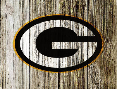 The Green Bay Packers 7g    Art Print
