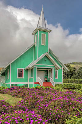 Photograph - The Green Church by Susan Rissi Tregoning