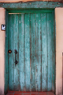 Photograph - The Green Door by Chris Smith