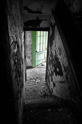 Photograph - The Green Door by Emily Stauring