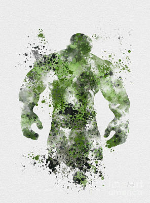 The Green Giant Art Print