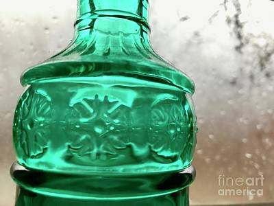 Photograph - the Green Glass of Home by Trish Hale