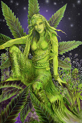 The Green Goddess Original by Apollo Environmental Artist