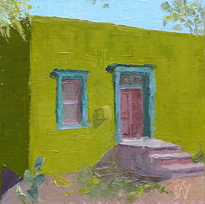 Painting - The Green House by Susan Woodward