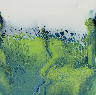 Painting - The Green Tides by Joanne Grant