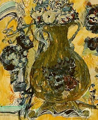 Digital Art - The Green Vase by Nancy Kane Chapman