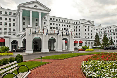Photograph - The Greenbrier Hotel by Jeanne Sheridan