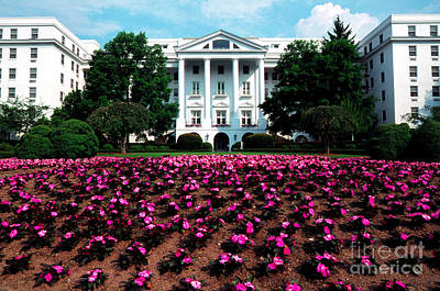 Upscale Photograph - The Greenbrier by Thomas R Fletcher