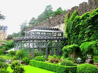 Photograph - The Greenhouse At Glenveagh Castle by Stephanie Moore