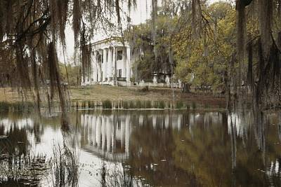 Plantation Photograph - The Greenwoood Plantation Home by J. Baylor Roberts