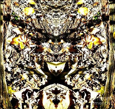 Spirt Digital Art - The Gremlin In The Woods by Scott D Van Osdol
