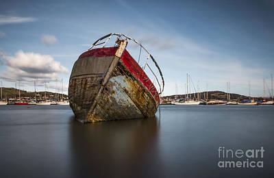 North Wales Digital Art - The Grey Lady  by Chris Evans