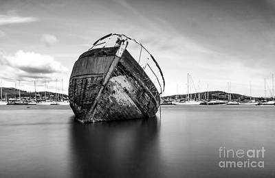 North Wales Digital Art - The Grey Lady Conwy by Chris Evans