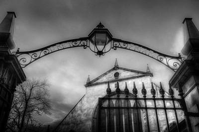 Photograph - The Greyfriars Kirk Cemetery Edinburgh by David Pyatt