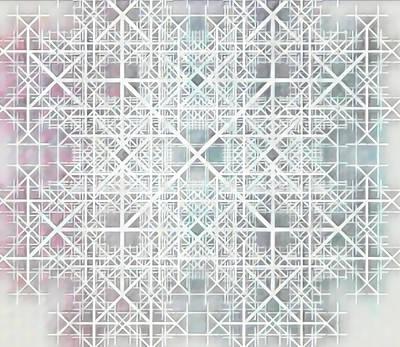 Digital Art - The Grid by Andrew Herman