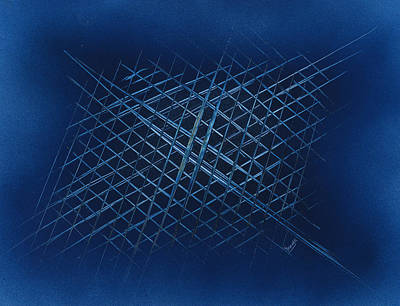 Painting - The Grid by Jason Girard
