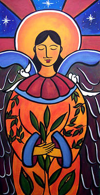 Painting - The Grieving Angel by Jan Oliver-Schultz