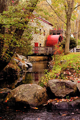 Photograph - The Grist Mill At Sudbury by Jean-Pierre Ducondi