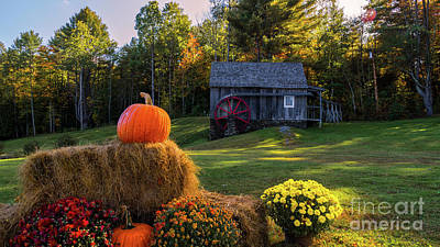 Photograph - The Grist Mill At The Vermont Country Store by Scenic Vermont Photography