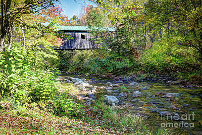 Photograph - The Grist Mill Bridge  by Deborah Klubertanz