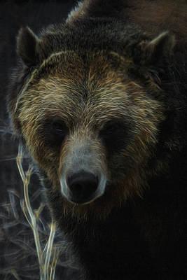 Digital Art - The Grizzly Digital Art by Ernie Echols
