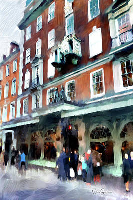 Digital Art - The Grocer - Fortnum And Mason by Nicky Jameson