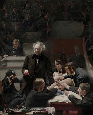 The Gross Clinic - Dr Samuel Gross Art Print by Thomas Eakins