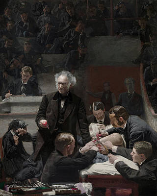 Doctor Painting - The Gross Clinic by Thomas Eakins