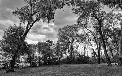 Photograph - The Grounds Of Fort Caroline National Memorial by John M Bailey